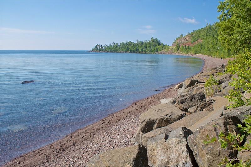 Good Harbor Bay North Shore Just south of Grand Marais