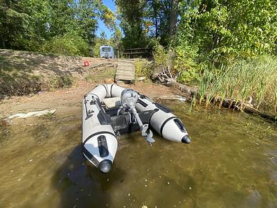 My speedboat. 2.3 hp yeah baby