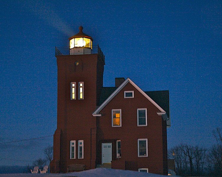 Two Harbors Lighthouse.