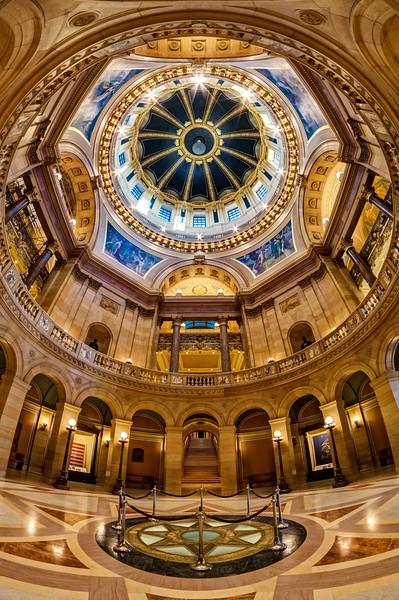The Minnesota State Capitol Rotunda