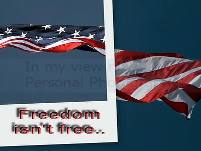 Freedom isn't free...