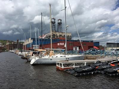 All Aboard Vista Fleet Duluth Minnesota