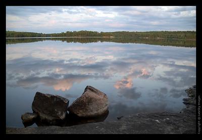 004T Sunset Reflection
