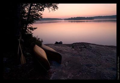 036T Sleeping Canoes