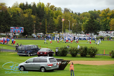 BHS homecoming game against St. Cloud Apollo.  I think Brainerd won 56-0!