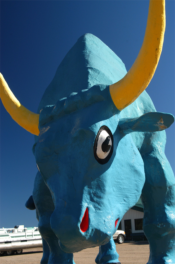 Babe the Blue Ox, now outside of Brainerd