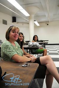 Cerna ladies at Franklin cafeteria.