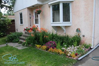 Garden at 1510 S. 7th, August 2008