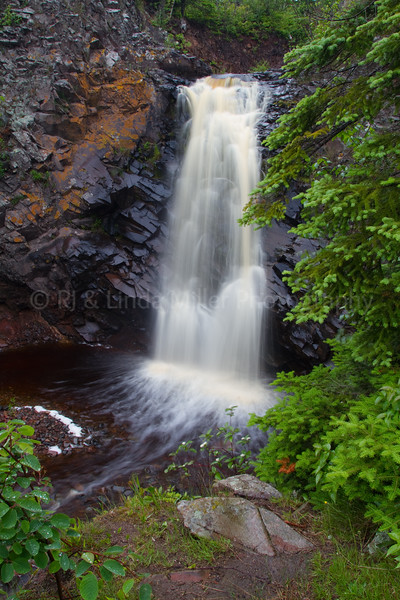 Cook County, MN, Fall River Waterfall