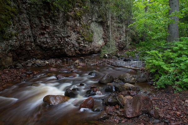 Cook County, MN, Kadunce River Falls