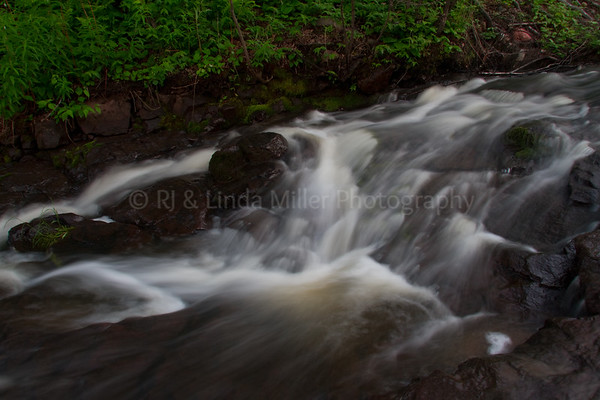 Cook County, MN, Durfee Creek, Small Waterfall