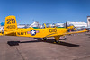 Vintage aircraft in static ground display at the 2017 Airshow in Duluth, Minnesota, USA.