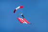 The Canadian Skyhawks parachute team at the 2017 Airshow in Duluth, Minnesota, USA.