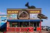 The Beaver House shop in Grand Marais, Minnesota, USA.