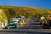 The town of Grand Marais on the north shore of Lake Superior, Minnesota, USA.
