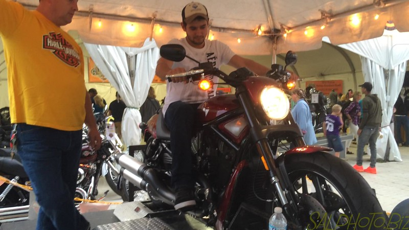 "Luciano Testing a Harley Davidson Motorcycle @MNstatefair<br /> <a href=""https://youtu.be/OXgH5OW7brI"">https://youtu.be/OXgH5OW7brI</a>"