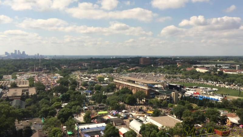 "Minnesota State Fair: Sky Tower Ride<br /> <a href=""https://youtu.be/VMyPr3ebJN4"">https://youtu.be/VMyPr3ebJN4</a>"