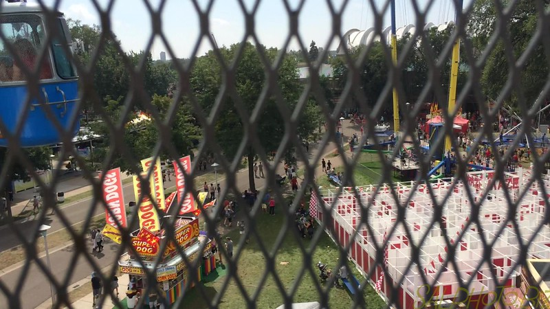 """Minnesota: State Fair-Sky Ride (Sal & 1st time for Luciano)<br /> <a href=""""https://youtu.be/tXZnjX-KqLc"""">https://youtu.be/tXZnjX-KqLc</a>"""