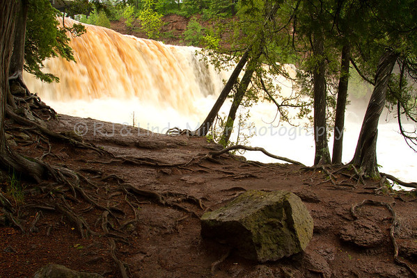 Lake County, MN, Gooseberry Falls State Park, Waterfalls and Trail