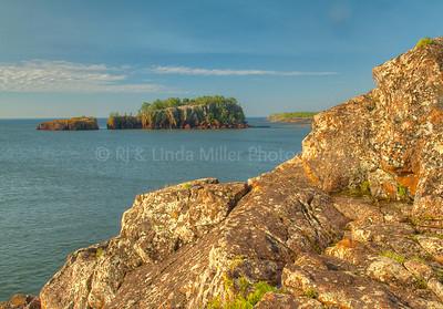 Lake County, MN, Hidden Cove Near Beaver Bay, MN