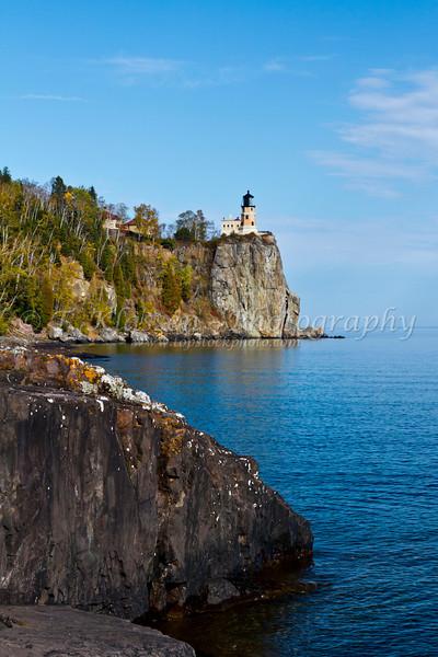 The Split Rock Lighthouse on the north shore of Lake Superior, Minnesota, USA.