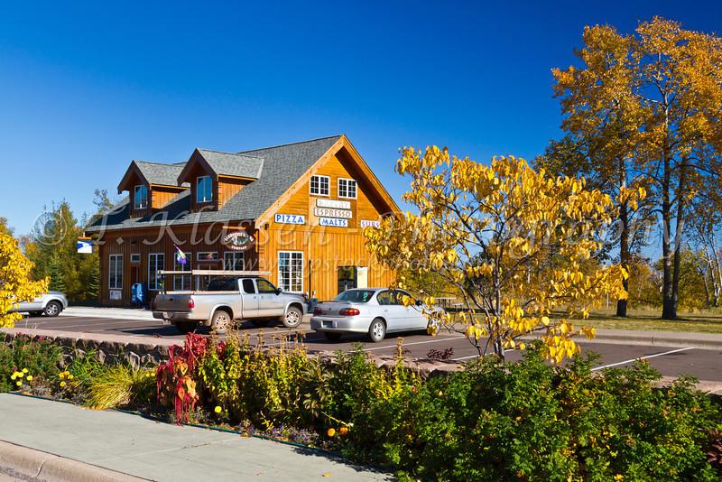 A shop along the north shore of Lake Superior, Minnesota, USA.