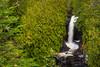 Cascade Falls at Cascade River State Park, Minnesota, USA.