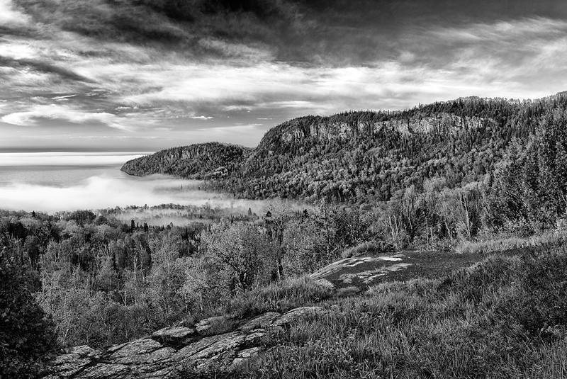 Closing Fog - Mt. Josephine (North Shore - Minnesota)