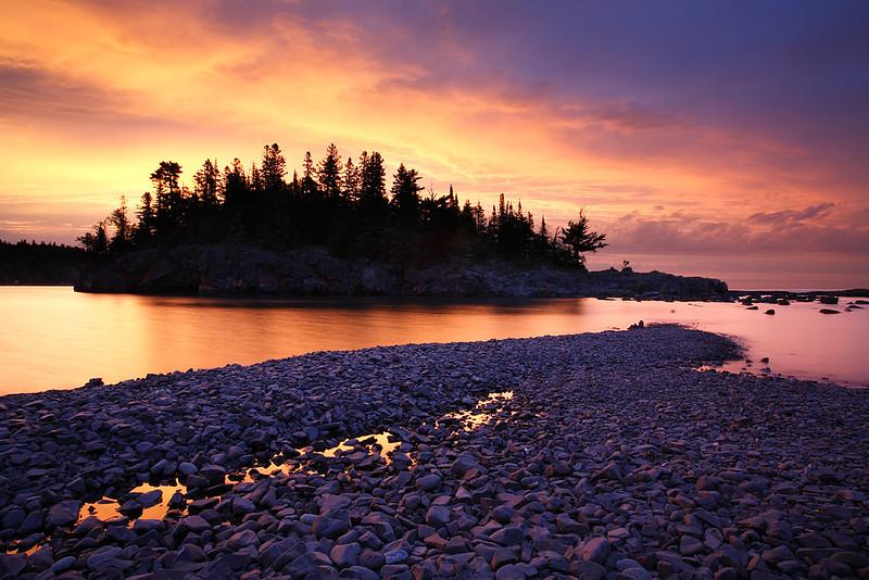 Breaking Dawn - Ellingson Island (Split Rock State Park - Minnesota)