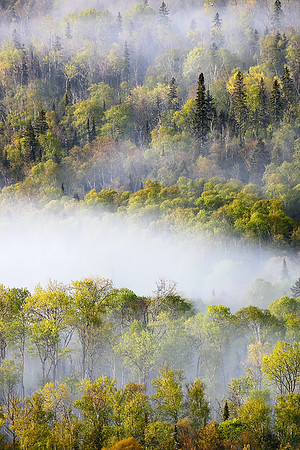 Fading Moments - Wausaugoning Bay Overlook (Grand Portage, MN)