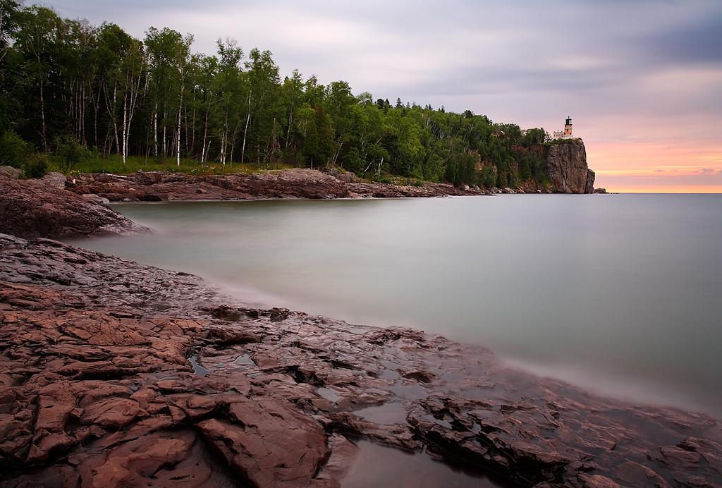 Dreamy Light - Split Rock Lighthouse (Split Rock Lighthouse State Park - Minnesota)