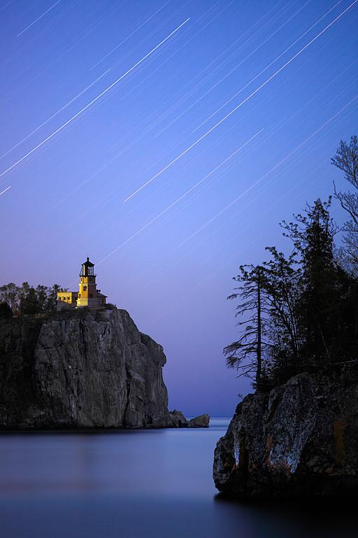 Trailing Tranquility Light - Split Rock Lighthouse (Split Rock Lighthouse State Park - Minnesota)