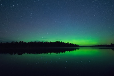 The Green Glow Over Moose Lake