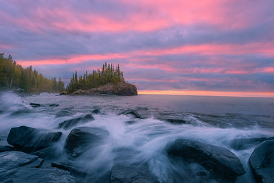 Isle of Pink and Pine