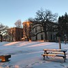 Winter light on UMN campus