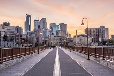 A Stroll over the Stone Arch