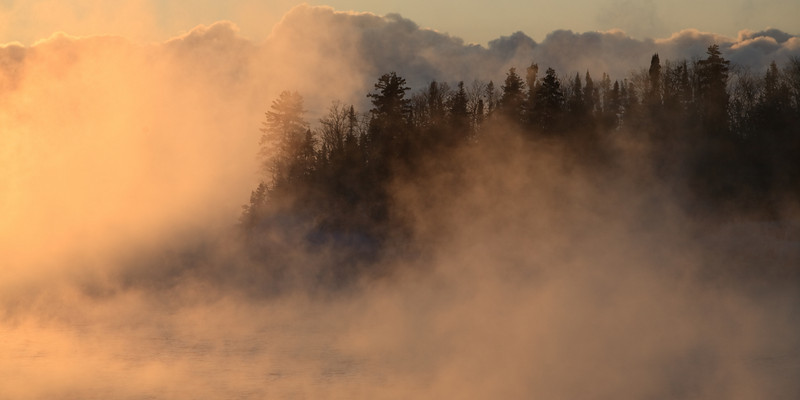 January Morning<br /> <br /> Artist Point<br /> Grand Marais, Minnesota<br /> (5II-02466)