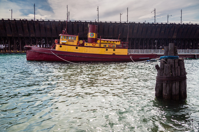 Duluth, Missabe & Iron Range Boat Edna G