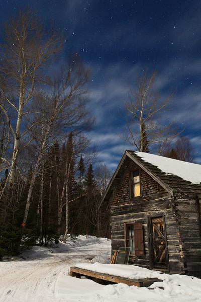 Mineral Center at Night <br /> <br /> Grand Portage Indian Reservation <br /> Grand Portage, Minnesota <br /> (5II2-11880)