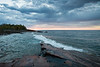 Cloudy Morning<br /> <br /> Artist Point<br /> Grand Marais, Minnesota<br /> (5-09661)