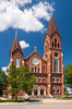 St Henry's Catholic church in Perham, Minnesota, USA.