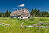 An old barn near Park Rapids, Minnesota, USA.