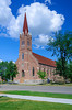 St. Annes's Catholic Church in Wadena, Minnesota, USA.