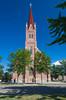 St. Annes's Catholic Church in Wadena, Minnesota, USA.