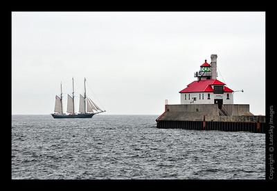 3052 S/V Denis Sullivan on Lake Superior