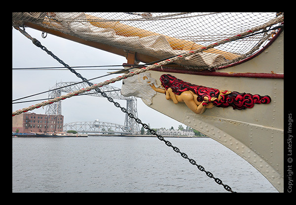 2052 Europa Figurehead & Lift Bridge