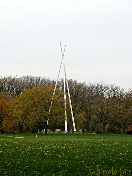 """Baypoint Park Teepee honoring our indian heritage<br /> <br /> Native American Tribes & the Indian History in Red Wing, Minnesota<br /> <a href=""""http://www.americanindiancoc.org/native-american-tribes-the-indian-history-in-red-wing-minnesota/"""">http://www.americanindiancoc.org/native-american-tribes-the-indian-history-in-red-wing-minnesota/</a><br /> <br /> """"...The U.S. government's policies towards Native Americans in the second half of the nineteenth century were influenced by the desire to expand westward into territories occupied by these Native American tribes. By the 1850s nearly all Native American tribes, roughly 360,000 in number, lived to the west of the Mississippi River. These American Indians, some from the Northwestern and Southeastern territories, were confined to Indian Territory located in present day Oklahoma, while the Kiowa and Comanche Native American tribes shared the land of the Southern Plains.<br /> <br /> The Sioux, Crows and Blackfeet dominated the Northern Plains. These Native American groups encountered adversity as the steady flow of European immigrants into northeastern American cities pushed a stream of migrants into the western lands already occupied by these diverse groups of Indians..."""""""