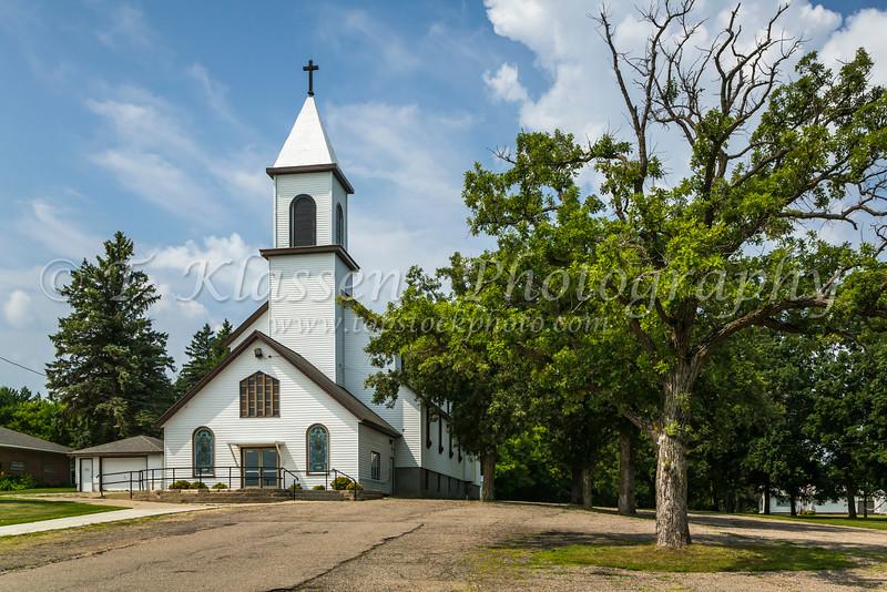 Saint Alexius Catholic Church in West Union, MInnesota, USA.