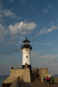 St. Louis, MN, Lake Superior Pierhead Light, Duluth
