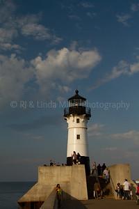 St. Louis, MN, Lake Superior Pierhead Light, Duluth